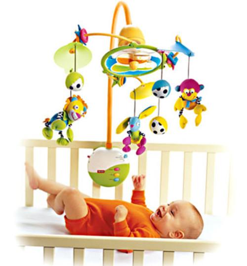 赤ちゃんに人気のベッドメリーは、必要あり?追視に効果、おすすめできます!