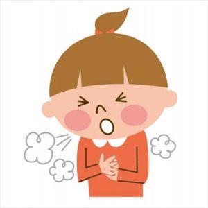 インフルエンザ 飛沫感染