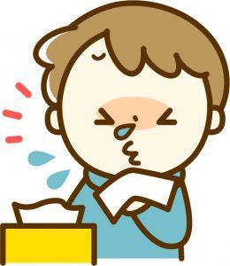 インフルエンザC型 症状 鼻水