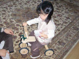 ボーネルンド 室内 三輪車